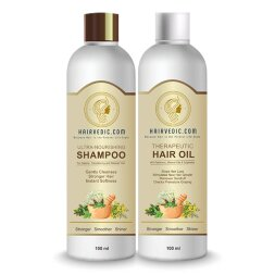 Hairvedic Herbal Hair Oil + Shampoo